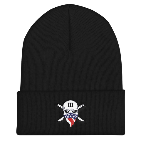 Uncle Sam's Misguided Children III% Cuffed Beanie