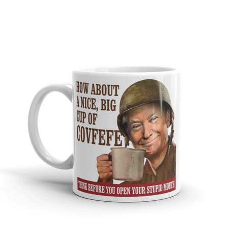 Big Cup of Covfefe Mug