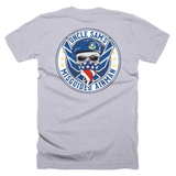 Uncle Sams Misguided Airman (Front and Back) T-Shirt