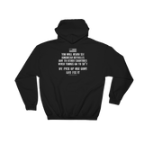 Veterans Before Refugees Hoodie (Front and Back)