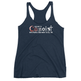 WOMEN'S I REFUSE TO COEXIST WITH PEOPLE WHO WANT TO KILL ME TANK TOP