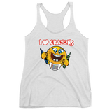 I LOVE CRAYONS Women's Tank Top