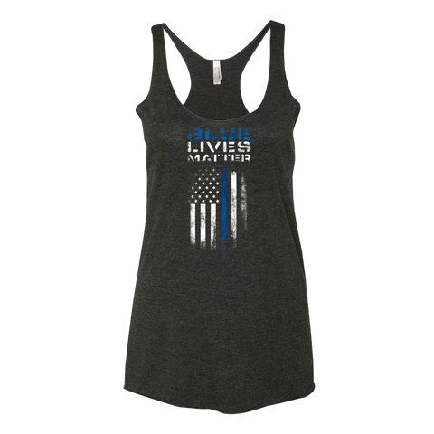 Women's Blue Lives Matter Tank Top