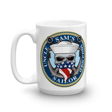 Uncle Sam's Misguided Sailor Mug