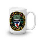 Uncle Sam's Misguided Soldier Mug