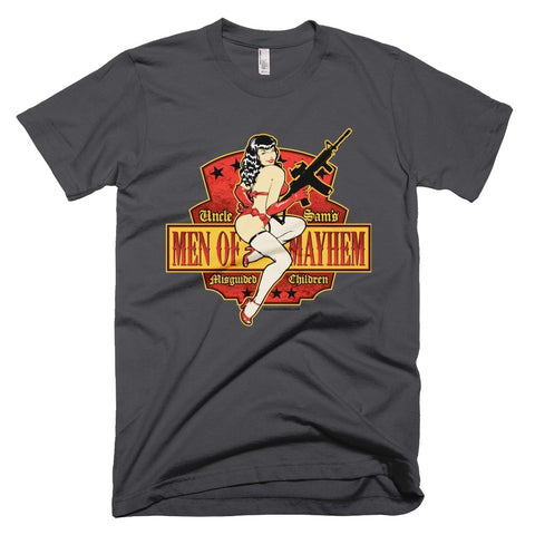 t-shirt men of mayhem asphalt