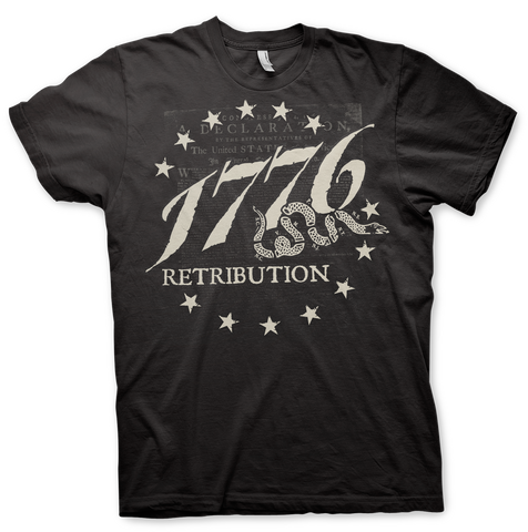 Retribution 1776 T-SHIRT