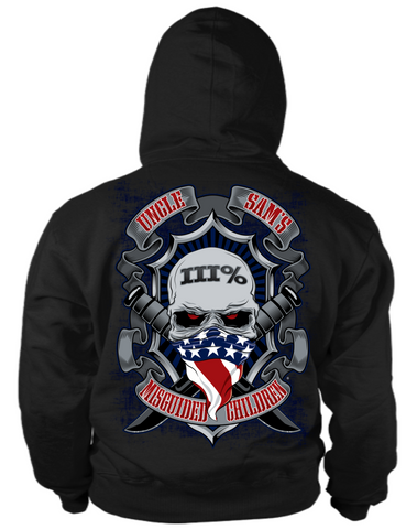 Three Percenter American Hoodie