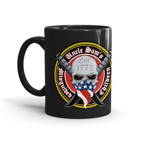 Uncle Sam's Misguided Children Original Logo Mug
