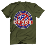 D.A.D.D.S. Dads Against Daughters Dating Snowflakes Tee