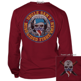 Uncle Sam's Fisherman Long Sleeve Tee