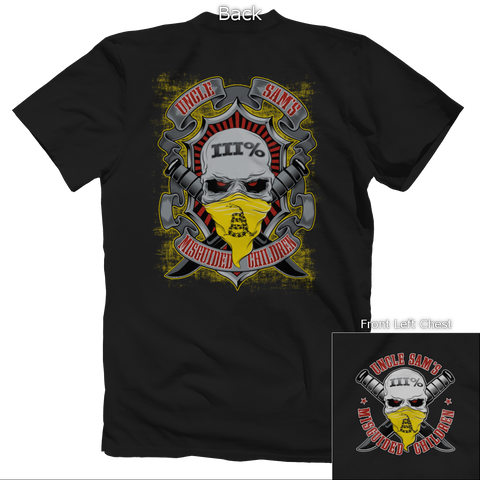Don't Tread on Me III% Tee