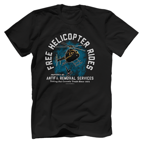 Free Helicopter Rides Tee