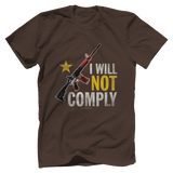 I Will Not Comply Tee