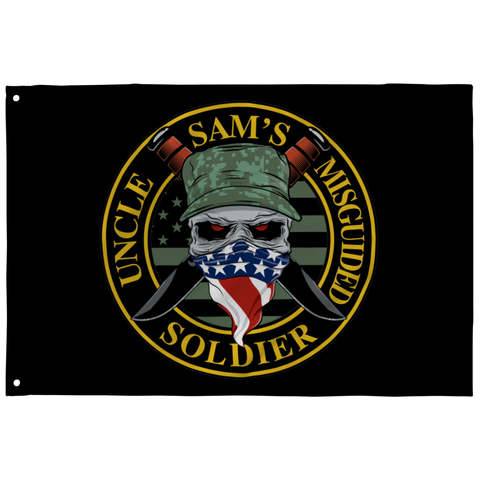 Uncle Sam's Misguided Soldier Flag
