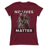 NO LIVES MATTER LEATHER FACE Tee