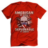 Deplorable By Choice Tee