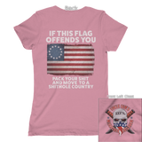 If This Flag Offends You (Front & Back) Tee