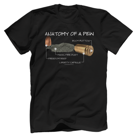 Anatomy Of A Pew Tee