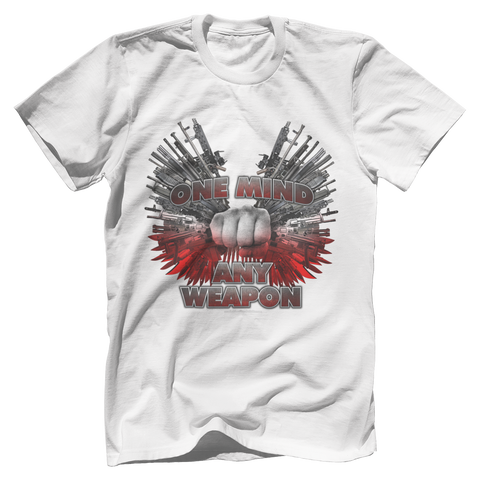 One Mind Any Weapon Tee