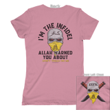 You Were Warned (Front & Back) Tee