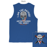 I Am The Patriot (Front and Back) Tee