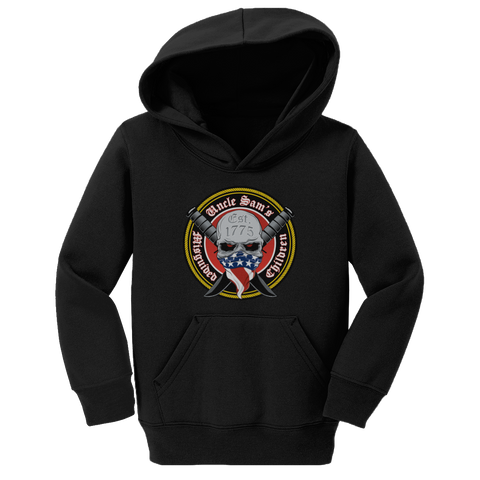 Toddlers Uncle Sam's Misguided Children Hoodie