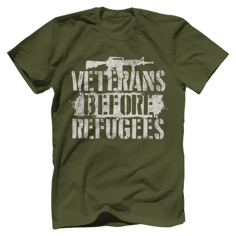 Veterans Before Refugees Tee