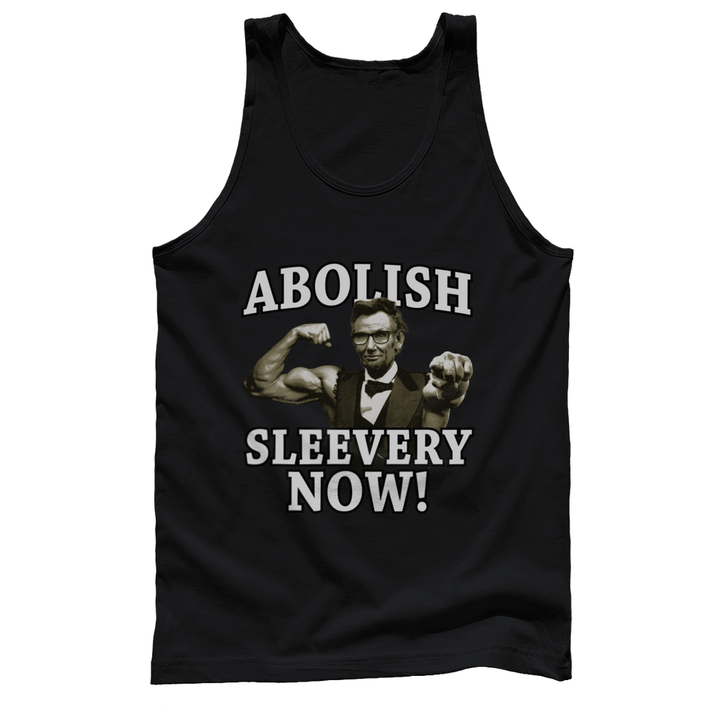 a31231a26d4b45 Abolish Sleevery Now Tank – Uncle Sam s Misguided Children