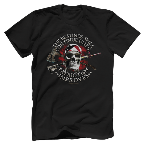 The Beatings Will Continue Tee