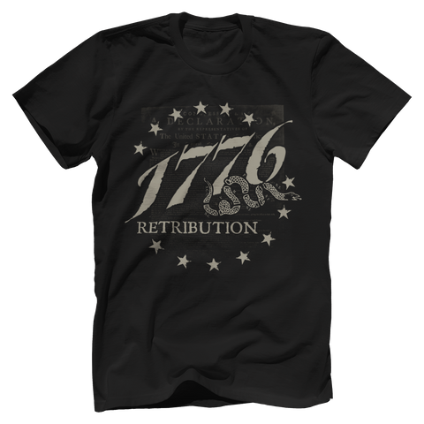 Retribution 1776 Tee