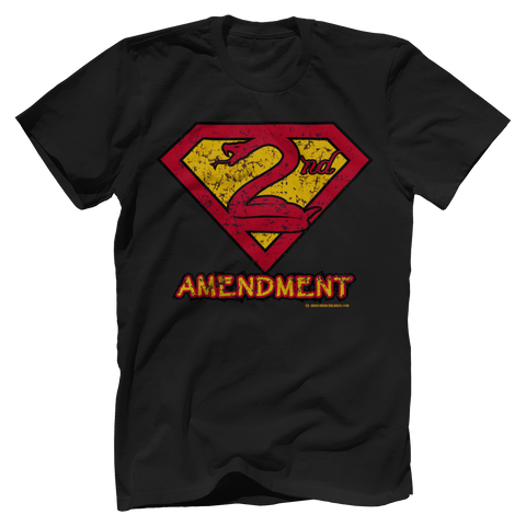 2nd Amendment Superman Tee