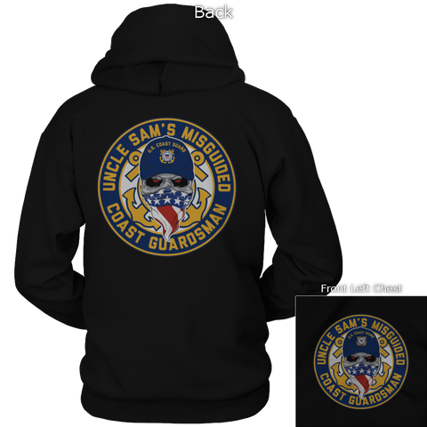 Misguided Coast Guardsman Hoodie