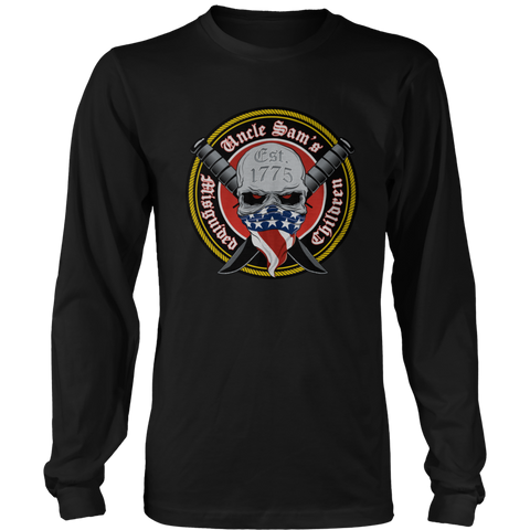 Uncle Sam's Misguided Children Long Sleeve Tee