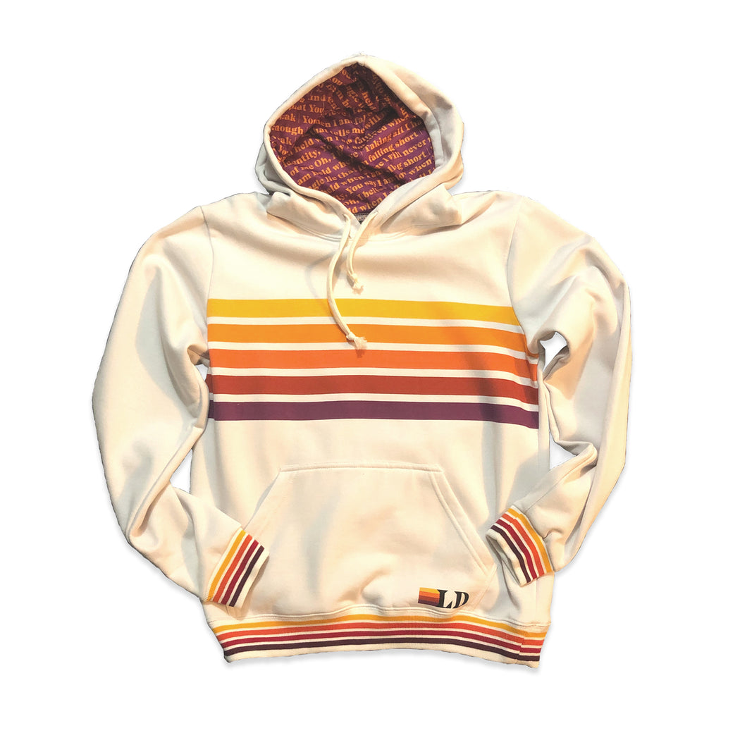 You Say Color Bar Hoodie