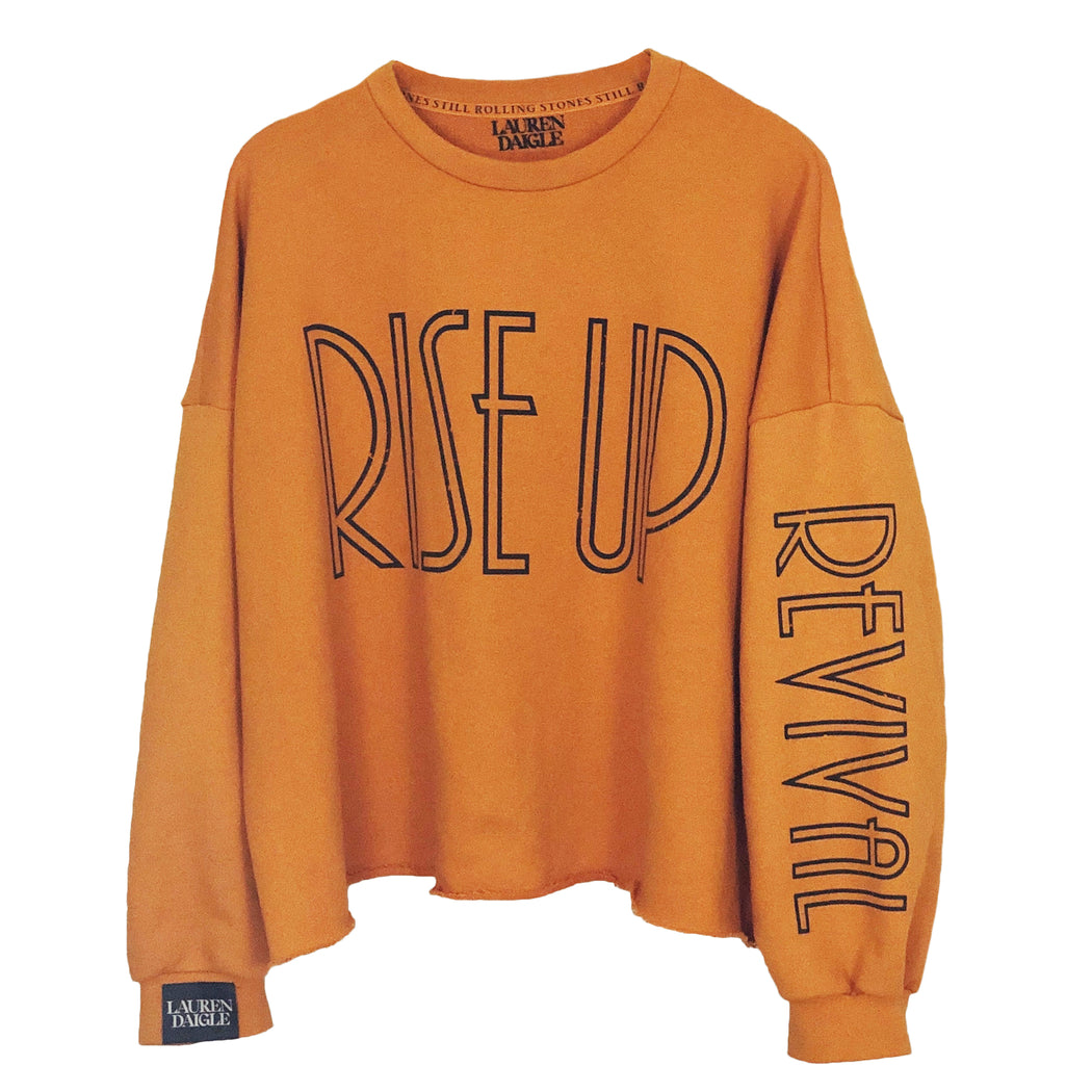 Rise Up Baggy Crewneck