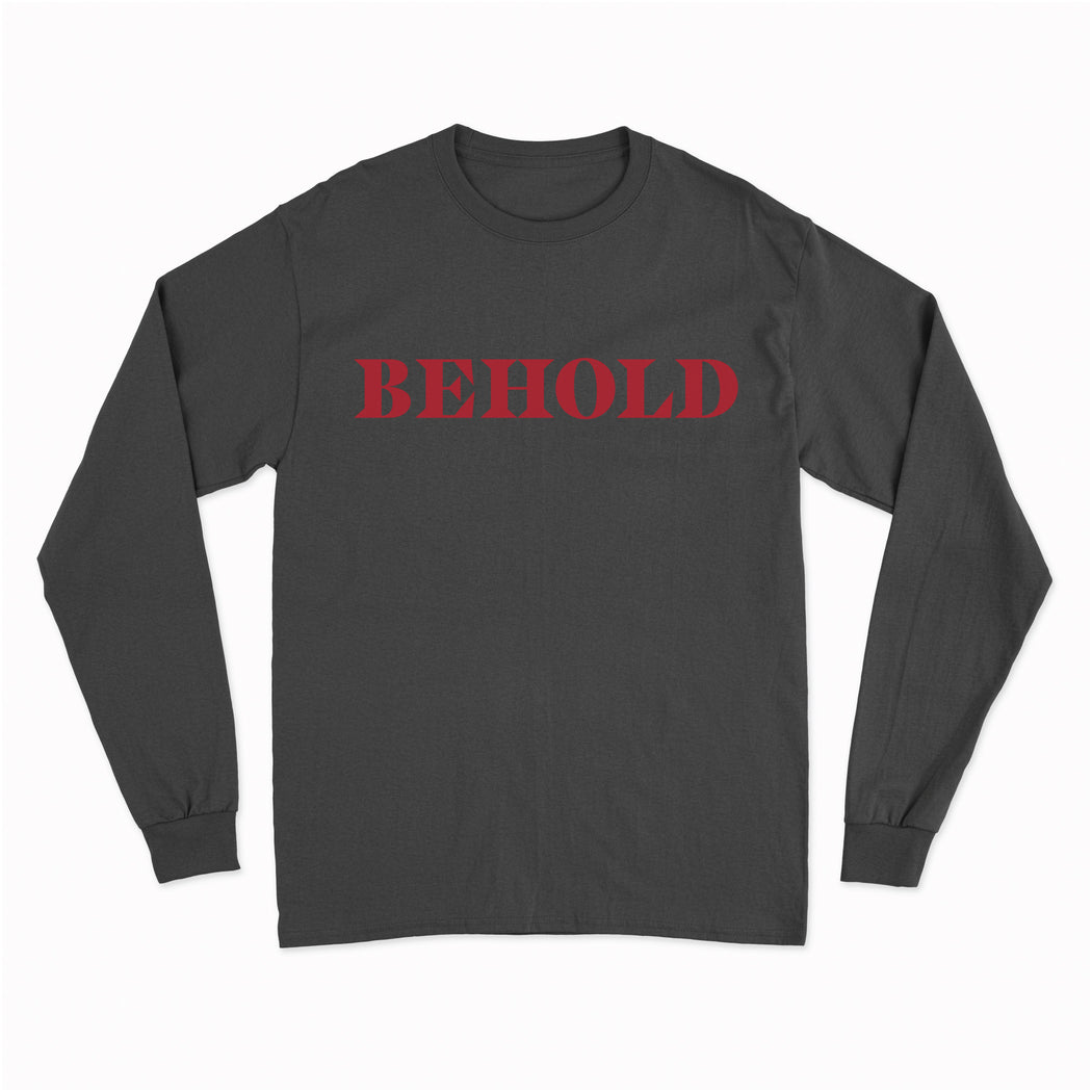 Behold Long Sleeve Tour T