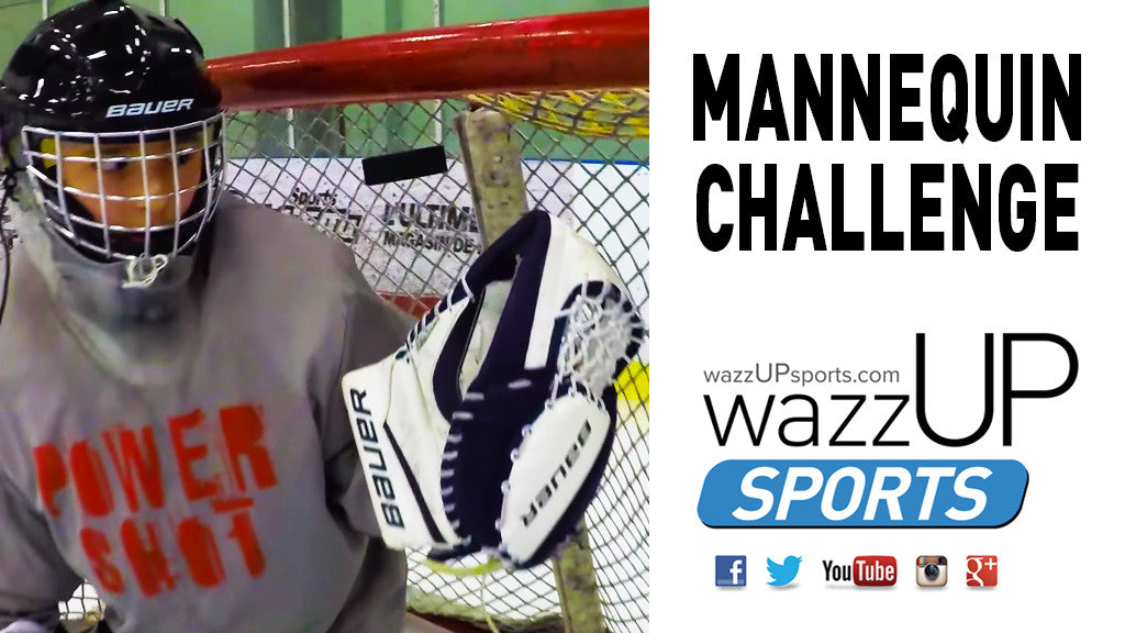 FLEX RAVEN HOCKEY STICKS - MANNEQUIN CHALLENGE