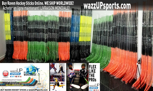 Raven Hockey Sticks for Sale | wazzUPsports.com