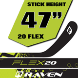 Raven 20 Flex Grip (47 Inches)