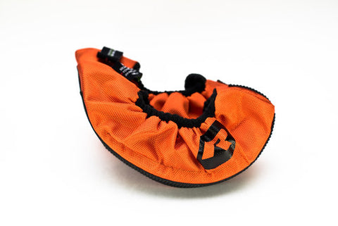SKATE GUARDS (ORANGE) - JUNIOR SKATE SIZES 1-4