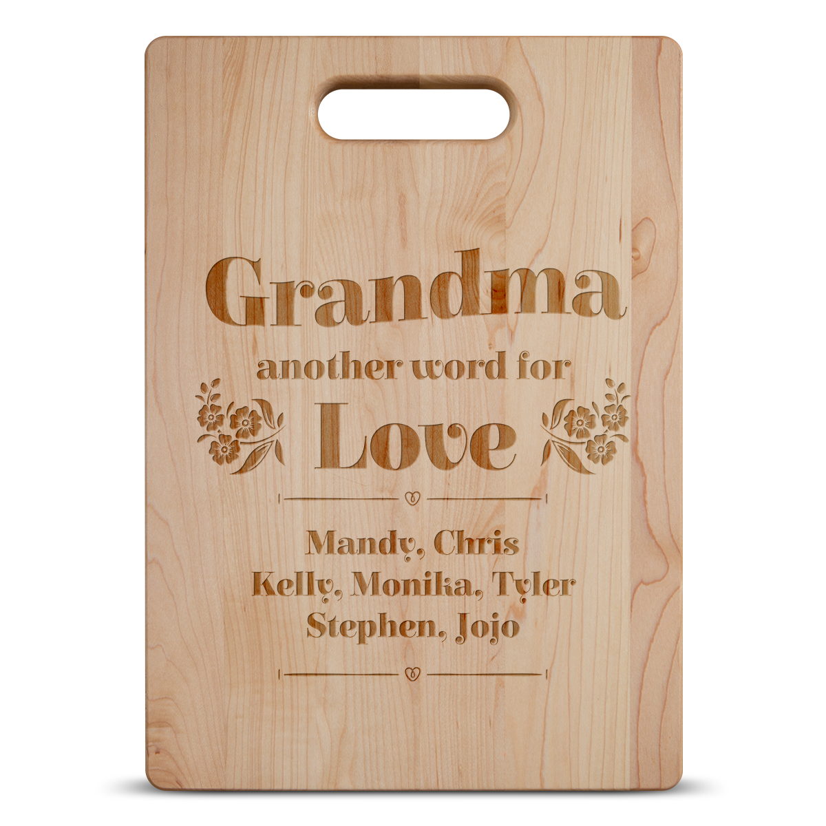 Another Word For Love Cutting Board