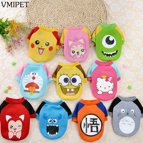 Image of Lovably Cute Character Dog Costume Jackets 10 Styles