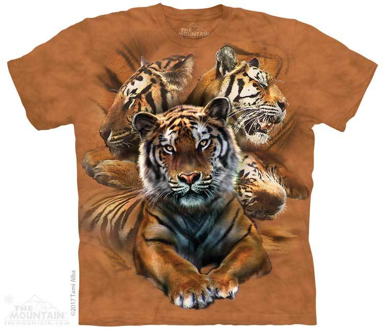 Resting Tiger Coll Youth T-Shirt