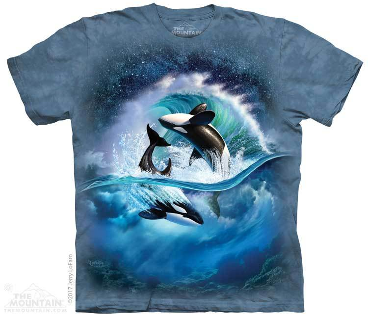 Orca Wave Youth T-Shirt