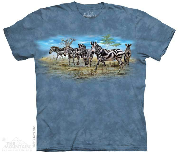 Zebra Gathering Youth T-Shirt