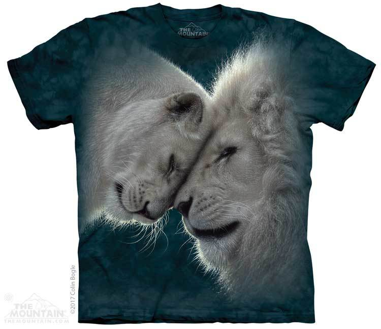 White Lions Love Youth T-Shirt