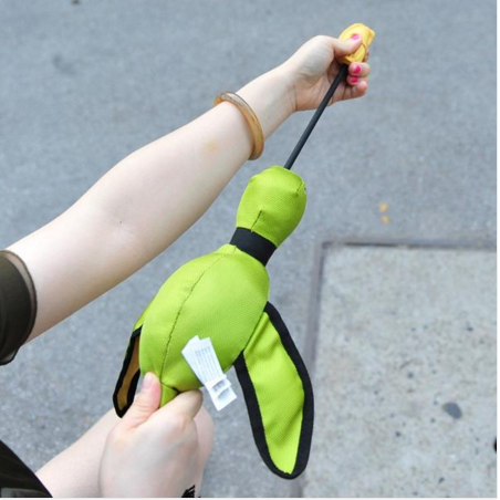 Flying Slingshot Duck Dog Toy