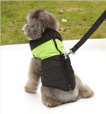 New All in One Warm Waterproof Quilted Harness Vest Coat