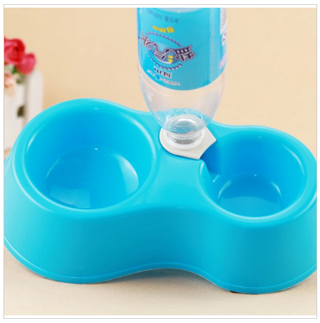 High Quality Dual Bowl for Auto Water Fill and Feeding Bowl Small Dog or Cat